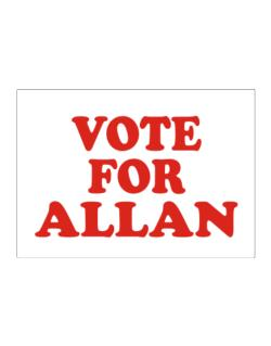 Vote For Allan Sticker