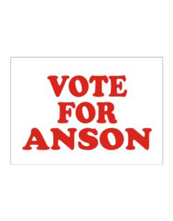 Vote For Anson Sticker
