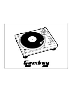 Retro Gombay - Music Sticker
