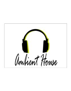 Listen Ambient House Sticker