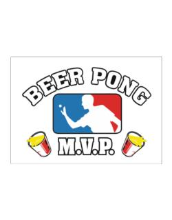 Beer Pong MVP Sticker