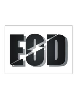 EOD explosive ordinance disposal Sticker