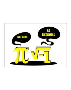 Get real Be rational Sticker