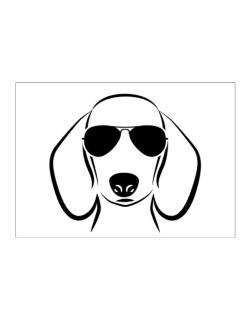 Dachshund Sunglasses Sticker