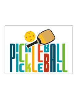 Pickleball fan Sticker