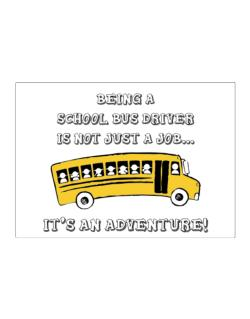 Being a school bus driver is not just a job Sticker