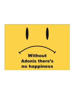 Without Adonis There Is No Happiness Sticker