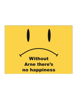Without Arne There Is No Happiness Sticker