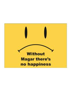 Without Magar There Is No Happiness Sticker