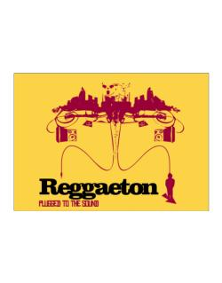 """  Reggaeton plugged into the sound "" Sticker"