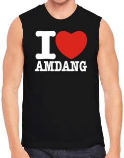 I Love Amdang Sleeveless
