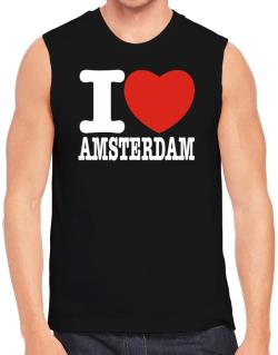 I Love Amsterdam Sleeveless