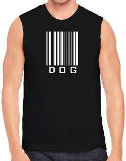 Dog Barcode / Bar Code Sleeveless