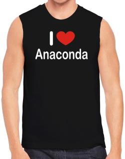 I Love Anaconda Sleeveless