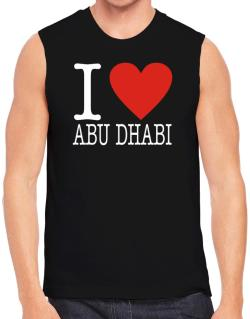I Love Abu Dhabi Classic Sleeveless
