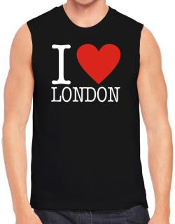 I Love London Classic Sleeveless
