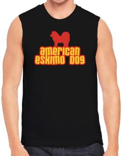 Breed Color American Eskimo Dog Sleeveless