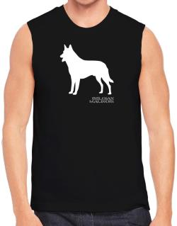 Belgian Malinois Stencil / Chees Sleeveless