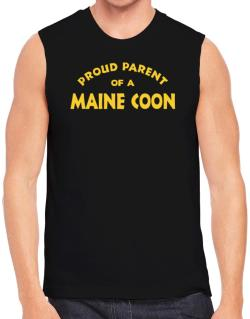 Proud Parent Of A Maine Coon Sleeveless