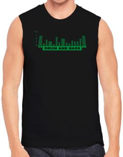 Drum And Bass - Equalizer Sleeveless