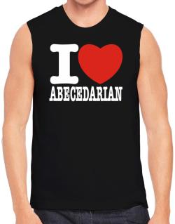 """ I love Abecedarian "" Sleeveless"