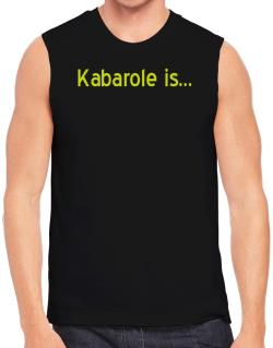 Kabarole Is Sleeveless