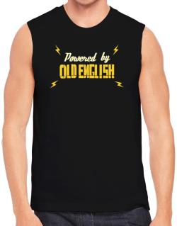 Powered By Old English Sleeveless