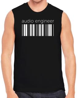 Audio Engineer barcode Sleeveless