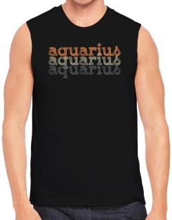 Aquarius repeat retro Sleeveless