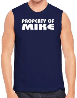 """ Property of Mike "" Sleeveless"
