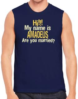 Hi My Name Is Amadeus Are You Married? Sleeveless