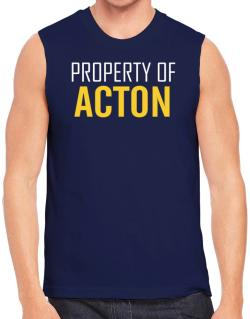 Property Of Acton Sleeveless