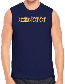 My Best Friend Is An Aegean Cat Sleeveless