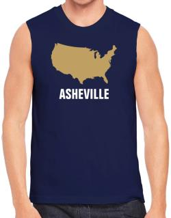 Asheville - Usa Map Sleeveless