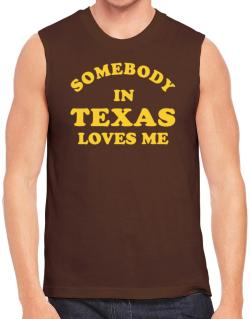 Somebody Texas Sleeveless