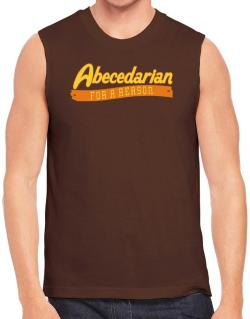 Abecedarian For A Reason Sleeveless