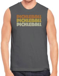 Pickleball Retro Color Sleeveless