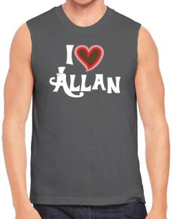 I Love Allan Sleeveless