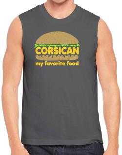 Corsican My Favorite Food Sleeveless