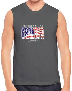 Grandpa Asheville - Us Flag Sleeveless