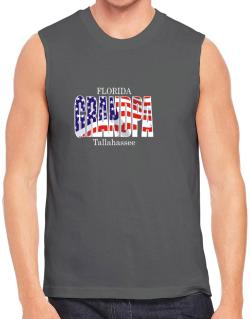Grandpa Tallahassee - Us Flag Sleeveless