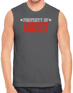 """ Property of August "" Sleeveless"