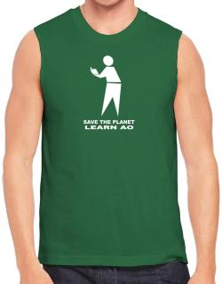 Save The Planet Learn Ao Sleeveless