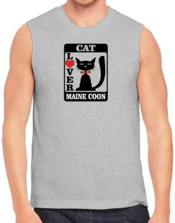 Cat Lover - Maine Coon Sleeveless