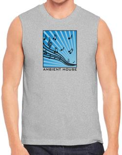 Ambient House - Musical Notes Sleeveless