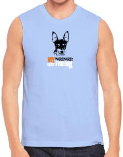 """ Fox Terrier MY BEST FRIEND - URBAN STYLE "" Sleeveless"
