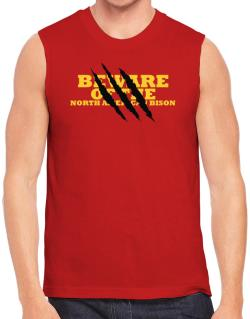 Beware Of The North American Bison Sleeveless