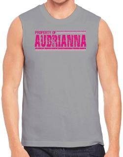 Property Of Aubrianna - Vintage Sleeveless
