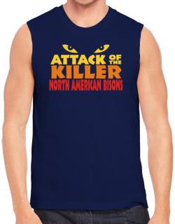 Attack Of The Killer North American Bisons Sleeveless