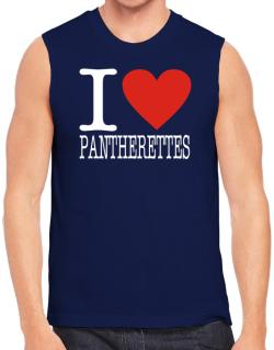 I Love Pantherettes Sleeveless